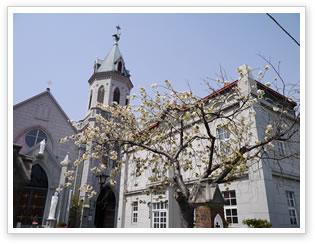 函館カトリック元町教会の写真