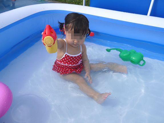 函館競輪場の幼児プール