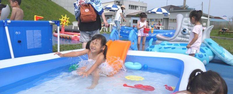 夏休みは函館競輪場プールで遊ぼう