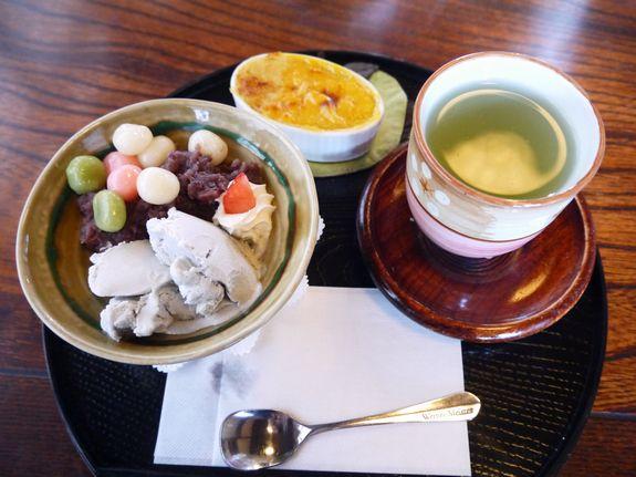 茶房菊泉のよくばりスイーツセット