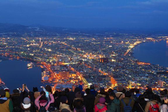 函館100万ドルの夜景イベント