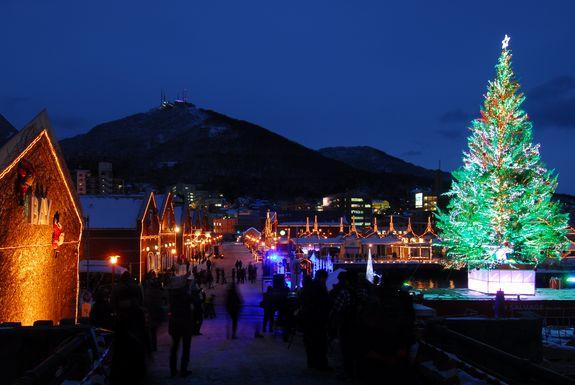 函館12月クリスマスイベント