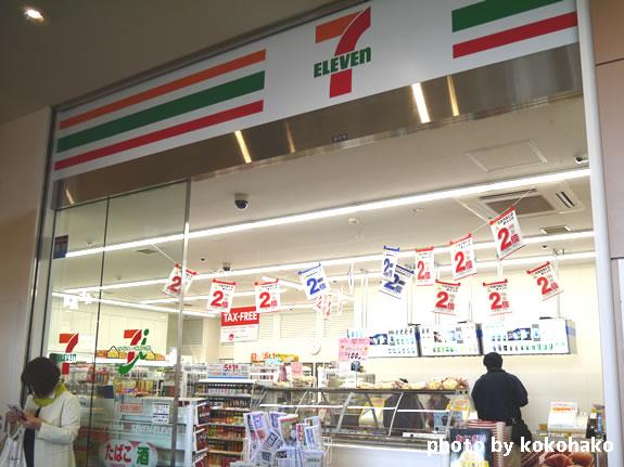 函館駅コンビニキヨスクはセブンイレブン
