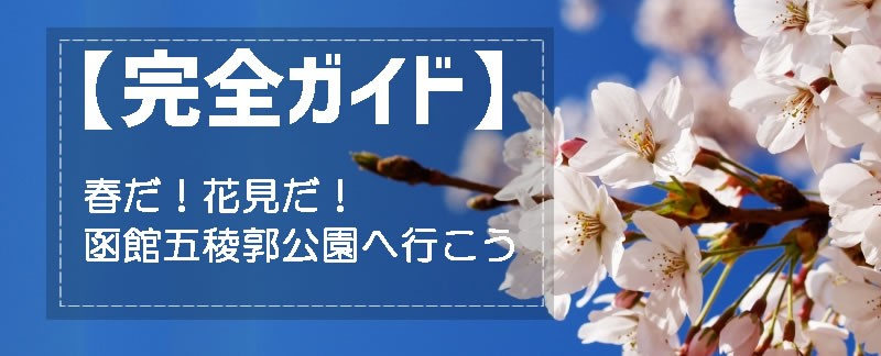 函館五稜郭公園の桜見ごろ完全ガイド