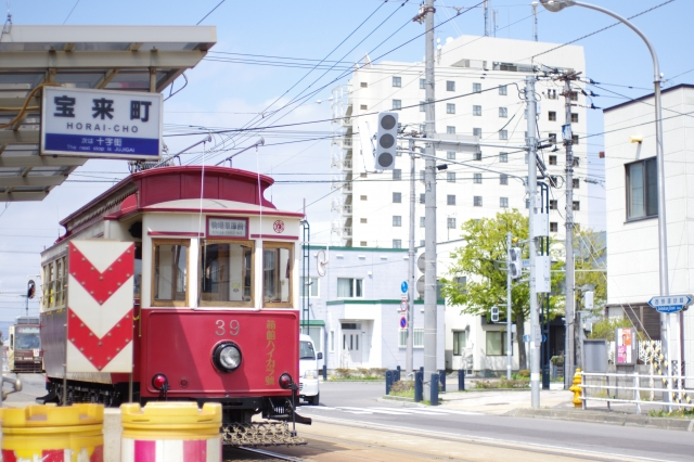 函館6月路面電車の日